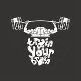 Trenuje twój mózg Fotografia Stock