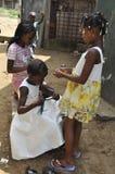 TRENZA AFRICANA fotografía de archivo libre de regalías