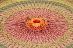 Trenza con las secuencias coloridas Imagenes de archivo