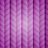 Trenzas violetas Imagen de archivo