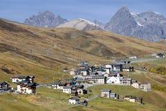Trepalle Dorf - Italien stockbilder