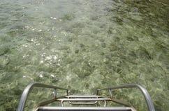 Treppe in das Meer Lizenzfreie Stockfotos