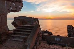 Treppe der Nordforts Lizenzfreie Stockfotos
