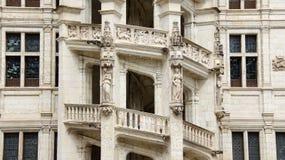Treppe des Chateaus de Blois Lizenzfreies Stockbild