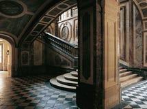 Treppe des Palastes Frankreich der Königin-Versailles Stockbild