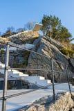 Treppe des Standpunkts, Alesund Lizenzfreies Stockbild