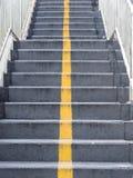 Treppe des Stegs Lizenzfreie Stockbilder
