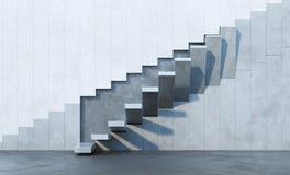 Treppe, die aufwärts führt Lizenzfreie Stockfotografie