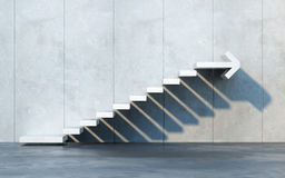 Treppe, die aufwärts geht vektor abbildung