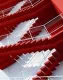 Treppe, die aufw?rts f?hrt stockbilder