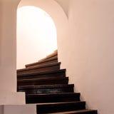 Treppe, die zu den zweiten Stock des Palastes der rumänischen Königin Maria führt. Lizenzfreies Stockbild