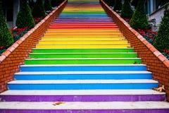 Treppe gemalt Stockbilder