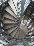 Treppe hölzern Stockbild