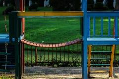 Treppe im Spielplatz Lizenzfreie Stockfotografie