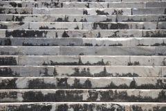 Treppe im Tempel von Apollo Stockfotos