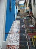 Treppe im Zement Stockbilder