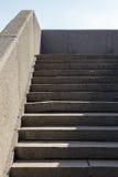 Treppe nach die Ufergegend Stockfoto