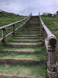 Treppe u. x28; Seite View& x29; Stockbild