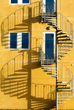 Treppe und Farbton Lizenzfreies Stockfoto