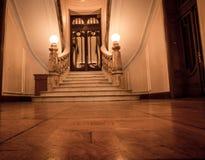 Treppe und Halle Stockfoto
