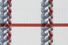 Treppe und Schatten Stockbilder