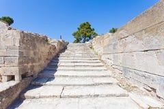 Treppe von Festos Lizenzfreie Stockfotos