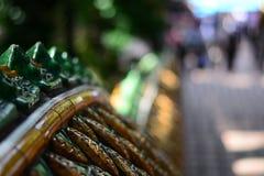 Treppe von Wat Doi Suthep lizenzfreies stockbild