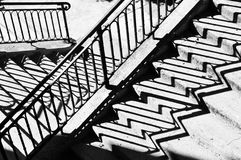 Treppe zu nirgendwo Stockfotos