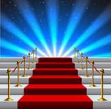 Treppe zum Ruhm Stockfoto