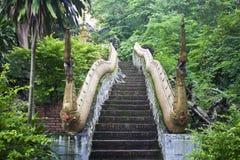 Treppe, zum von Phousi anzubringen Stockbild