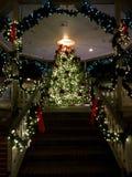 Treppe zum Weihnachten Lizenzfreie Stockbilder