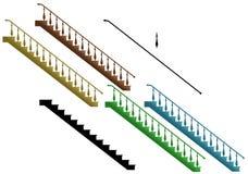Treppen stock abbildung