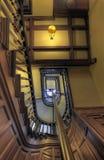 Treppen in altem Haus 5 Lizenzfreie Stockbilder