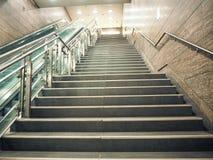 Treppen der Leuchte stockfotos