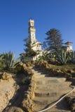 Treppen, die zu das Al-Haramlik Palace+garden führen Stockfotos