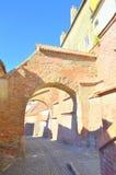 Treppen-Durchgang - Sibiu Lizenzfreie Stockfotos