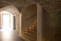Treppen in einem alten Gebäude Lizenzfreies Stockbild