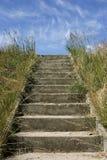 Treppen fast zum Himmel Stockfotos