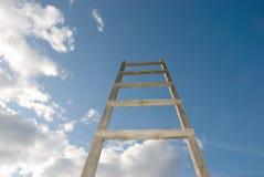 Treppen im Himmel Stockbild