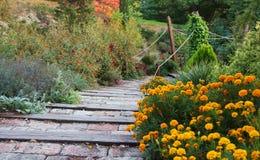Treppen im Park Lizenzfreies Stockbild