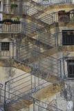 Treppen kopieren in Sizilien Stockfotografie