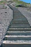 Treppen an Mt-Str. Helens Stockfoto
