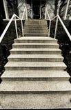 Treppen oben Stockfoto