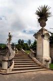 Treppen am Park Stockbild