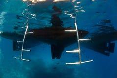 Treppen Unterwasser Stockbild