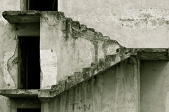 Treppen zu nirgendwo lizenzfreie stockfotografie