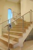 Treppen zum 2. Stock Stockbild