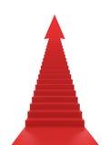 Treppen zum Erfolg Stockbild