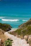 Treppen zum Meer Lizenzfreies Stockbild