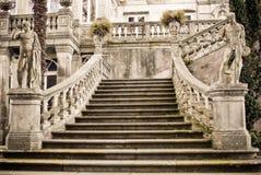 Treppen zum Palast stockbilder